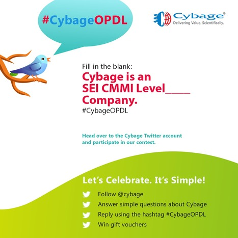 One more before we close the #Contest today Reply using #CybageOPD | Cybage IT News | Scoop.it