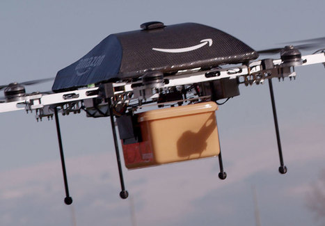 Amazon Partners With U.K. To Test Deliveries By Aerial Drone I Bloomberg | ECOMMERCE | Scoop.it