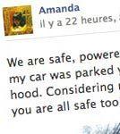 Ouragan Sandy : son impact sur les statuts Facebook | Chrysalyde 11 | Scoop.it