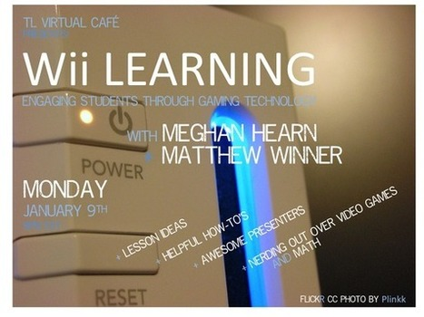 TL Virtual Cafe - wii_learning | Making Library the Best! | Scoop.it