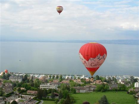 Montgolfiades et Festi'vol à Évian-Les-Bains du 6 au 8 mai | Aérostation, ballons et dirigeables | Scoop.it