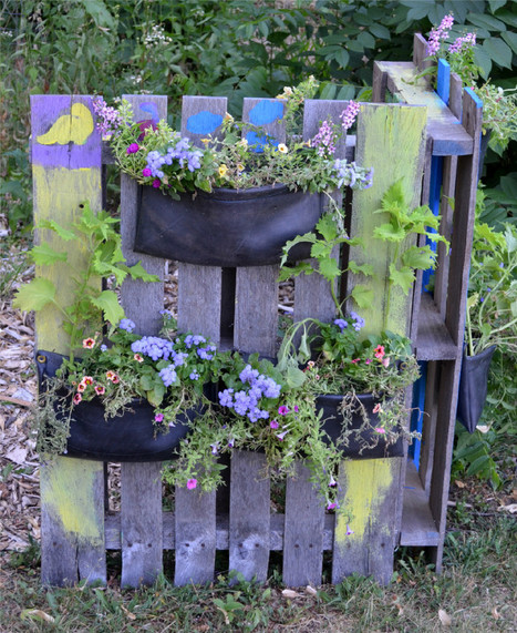 Flat Tire Décor: Reworked Tires Are Trendy - GeekMom   Annie Haven   Haven Brand   Scoop.it