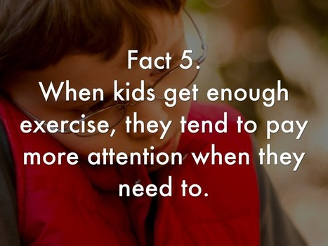 Kids Who Exercise Are More Attentive | Making Your Own Home Remedies | Scoop.it