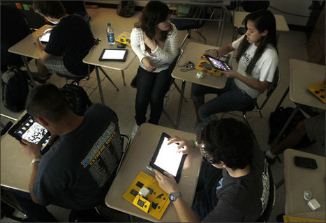 Texas District Sees iPads Easing Its Digital Divide | Texas Elementary Summer Reading Lists | Scoop.it