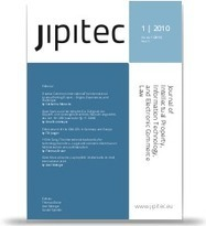 JIPITEC – Journal of Intellectual Property, Information Technology and E-Commerce Law — jipitec | laws | Scoop.it