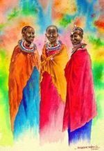 African Art Paintings for Sale by 65 African Artists | African Cultural News | Scoop.it