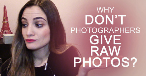 Why Don't Photographers Give Out RAW Photos? | xposing world of Photography & Design | Scoop.it