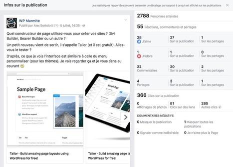Comment augmenter la portée de sa page Facebook avec une habitude toute simple | Web Communication | Scoop.it