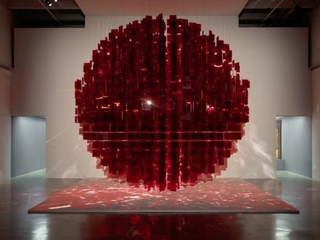 installation art - Julio Le Parc:  Red sphere | VIM | Scoop.it