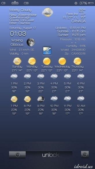 Cydia Tweak Widget Weather 1.5-38   Best cydia tweaks   Scoop.it