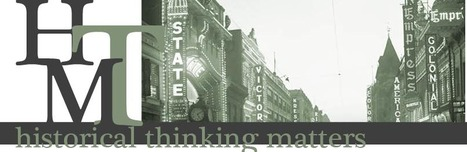 Historical Thinking Matters: home page | K-12 Web Resources - History & Social Studies | Scoop.it