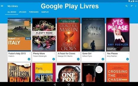 Google Play Livres vous recommande des livres en fonction des sites visités | 694028 | Scoop.it