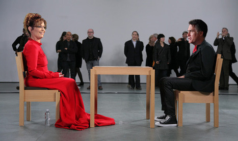Is Politics the New Performance Art? Sarah Palin and Mitt Romney Channel Abramovic - ARTINFO | gender | Scoop.it