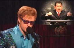 Justin Timberlake As Elton John | Hugo Chavez | SNL Cold Open | Mediaite | iPad Sammy's Pinterest Page | Scoop.it