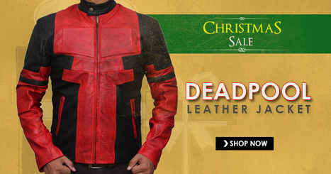 Deadpool Jacket For Christmas | CELEBRITY OUTFITS | Scoop.it