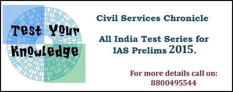 Know where you stand in Civil Services exams, Join All India Test Series. | Chronicle IAS Academy | Scoop.it