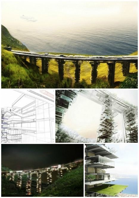 Abandoned Bridge In Italy Transformed Into A Futuristic Vacation Resort   highline   Scoop.it
