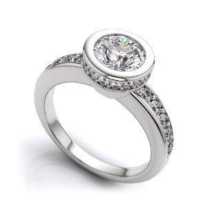 Bezel Set Engagement Rings - Unique and Antique Designs | Vintage-Antique Rings of the World | Scoop.it