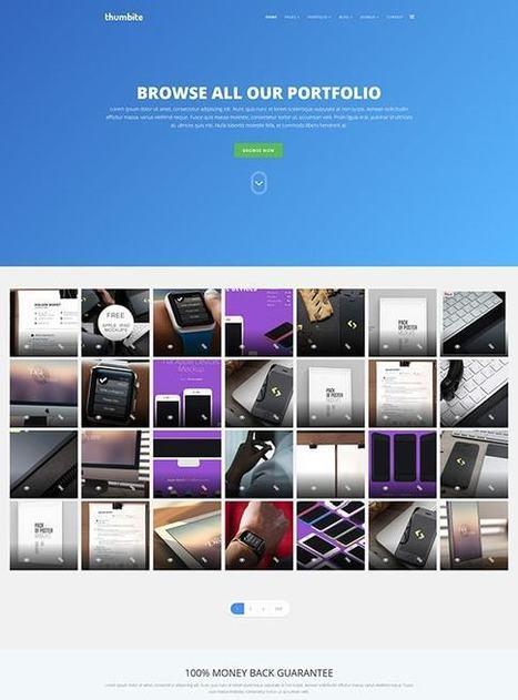 TM Thumbite - Google Grid Gallery and Portfolio Joomla Template | Free & Premium Joomla Templates and WordPress Themes | Scoop.it