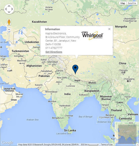 Whirlpool India Dealer Locator | Whirlpool India - Home Appliances, Refrigerators, Washing Machines, Air Conditioners, Microwave Ovens, Water Purifiers | Scoop.it