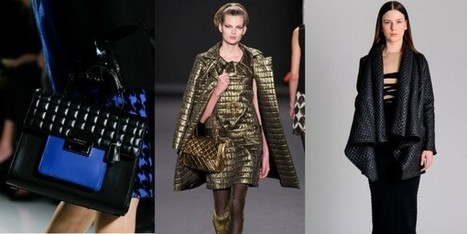NYFW Breaking Trends Fall 2013: Quilting - Accessories Magazine | peaceful lady | Scoop.it