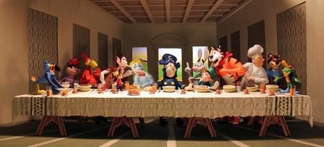 Ça cartoon dans vos assiettes | Mémoire publicité : personnages publicitaires | Scoop.it