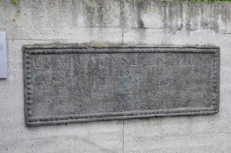 Lucius Munatius Plancus, el fundador de Lyon y Augusta Raurica. ~ Arqueología en mi jardín   Mundo Clásico   Scoop.it