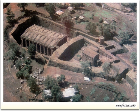 Biggest monolithic church of ancient times.Ethiopia.House of the Saviour | Ancient Cities | Scoop.it