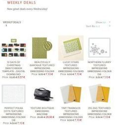 weekly deals - Embosser / gaufrer à -25% | Loisirs Créatifs manuels | Scoop.it