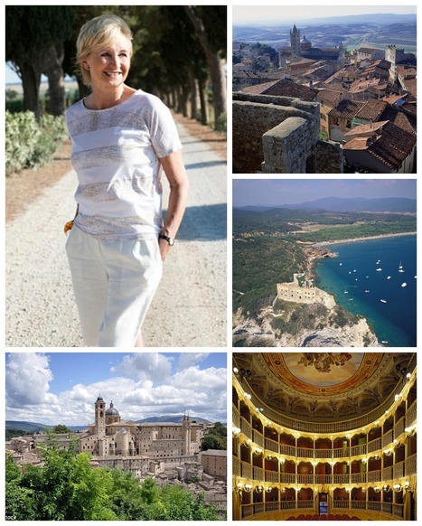 Sue Lawley enjoys an odyssey in Tuscany and Umbria | Italia Mia | Scoop.it
