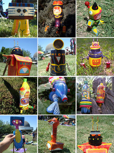 Basurillas » Blog Archive » Udunekos, juguetes hechos con material reciclado.   Hort escolar i manualitats   Scoop.it