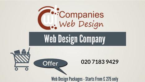 Companies Web Design on Tumblr | Web Design Company London | Cheap Web Design Packages | Companies Web Design | Scoop.it