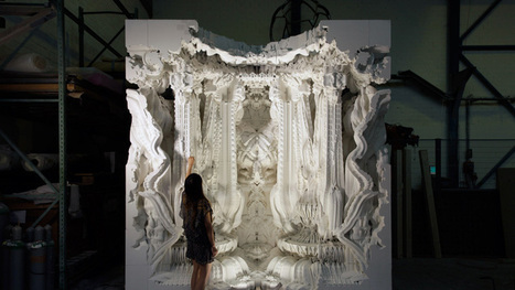 digital grotesque: full-scale 3D printed room realized - Designboom | computational architecture | Scoop.it