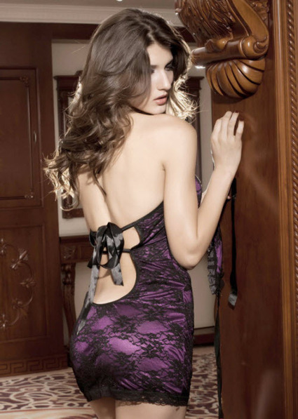 Sexy Purple Lace Chemise –SexyLingeriesDeal.com | Queen Size Costumes | Scoop.it