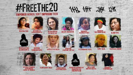 #FreeThe20: une campagne pour les prisonnières d'opinion | egalité femmes hommes | Scoop.it