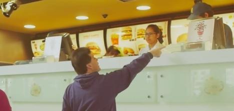 Au Pérou, McDonald's crée un comptoir géant pour faire retomber les adultes en enfance | marketing expérientiel | Scoop.it
