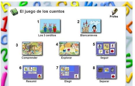 El juego de los Cuentos | Recursos útiles para padres para el inicio de la lectoescritura en Educación Infantil | Scoop.it