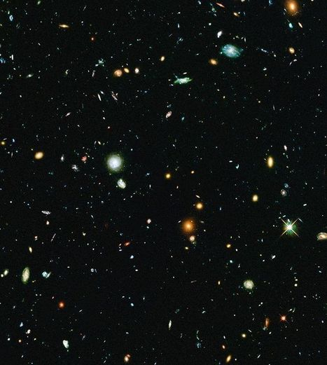 Hubble Reveals Universe's Oldest Galaxies | Exploring Anthropology | Scoop.it