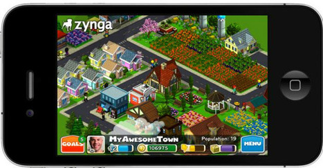 Zynga launches CityVille Hometown mobile game | VentureBeat | Mobile gaming in webapps | Scoop.it