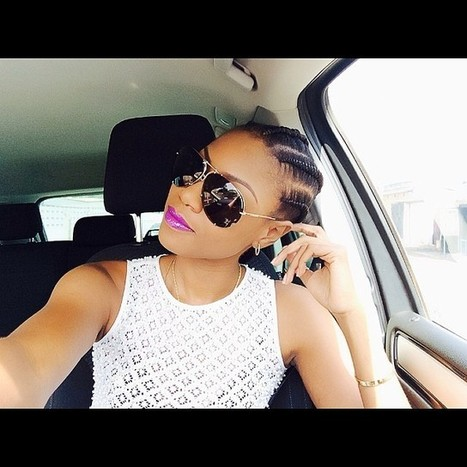 Checkout Yvonne Nelson's 'Coolest' Car Selfie ever!-Photo | ChachaCorner | Scoop.it