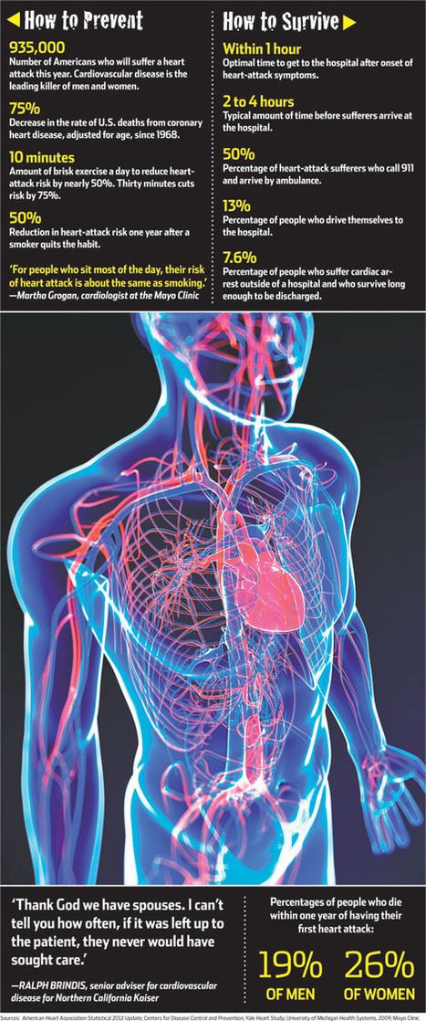 The Guide to Beating a Heart Attack | diabetes and more | Scoop.it