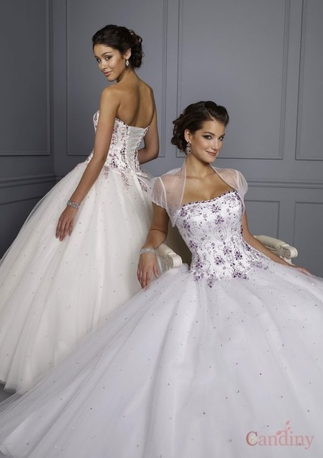 Trouwjurken, trouwjurken Nederland, avondjurken, bruidsmeisje jurken, moeder van de bruid jurken - Candiny   wedding time   Scoop.it