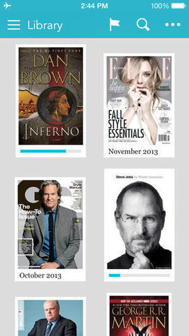 Kobo Books E-Reading App Turns A New Page, Updated To Version 7.0 For iOS 7 - AppAdvice | Digital Tablet Publishing | Scoop.it