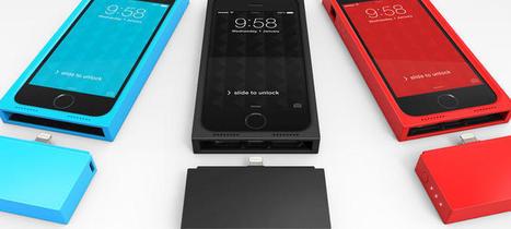 Augment, la batería modular que promete alargar la vida del iPhone un 60% - Noticias de Tecnología | Aprendiendo con las TIC TAC | Scoop.it