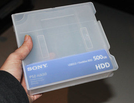 Sony announce their professional range of SSD and HDD storage with one great extra feature - fcp.co | Videography | Scoop.it