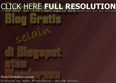 Cara Membuat Blog Gratis untuk Bisnis Selain di Blogspot dan Wordpress   Beta Bicara Artikel   Scoop.it