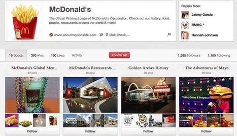 How McDonald's uses Facebook, Twitter, Pinterest and Google+ | Digital marketing & social media | Scoop.it