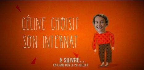Céline choisit son internat : websérie par le CHU d'Angers | Médias et Santé | Scoop.it