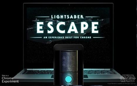 Star Wars : ce jeu transforme votre mobile en sabre laser | Tendances numériques et outils du web | Scoop.it