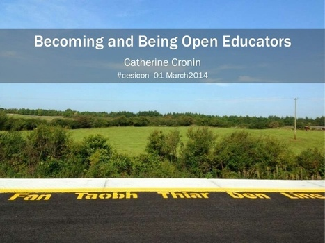 Becoming and Being Open Educators | Good Pedagogy | Scoop.it